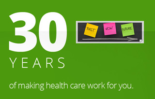 30 Years of making health care work for you!